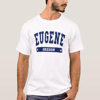 Camisetas do estilo da faculdade de Eugene Oregon