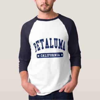 Camisetas do estilo da faculdade de Petaluma