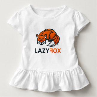 Camisetas do plissado de LazyFox