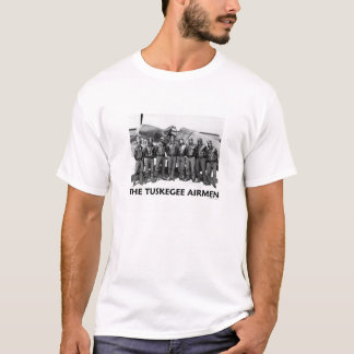 Camisetas dos aviadores de Tuskegee