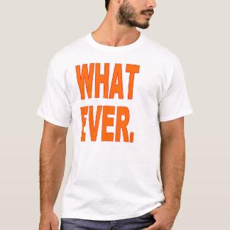 Camisetas engraçadas 6x mais o tamanho que nunca