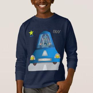 Camisetas engraçadas bonitos do carro