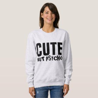 Camisetas engraçadas BONITOS MAS PSICÓTICOS das
