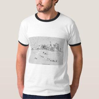 Camisetas engraçadas com imagem dos desenhos