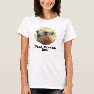 Camisetas engraçadas cómicos do café irritado da