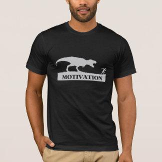 Camisetas engraçadas da motivação de T-Rex