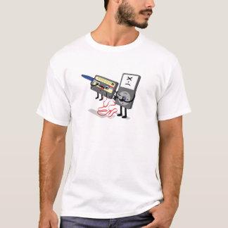 Camisetas engraçadas de IPod Clipart do assassino