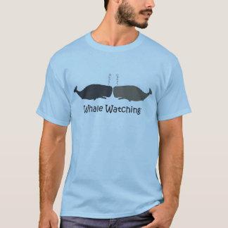 Camisetas engraçadas de observação do guia