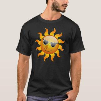 Camisetas engraçadas de Sun do verão