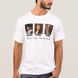 Camisetas engraçadas descuidados do rei Charles