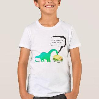 Camisetas engraçadas do Burrito da pausa para o