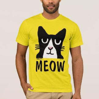 Camisetas engraçadas do CAT do GATINHO da PANDA,
