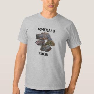 Camisetas engraçadas dos coletores da rocha de