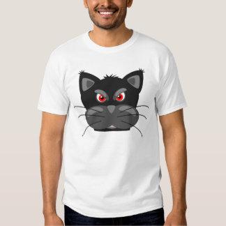 Camisetas engraçadas mal-humoradas dos desenhos