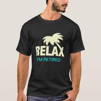 Camisetas engraçadas para a pessoa aposentada