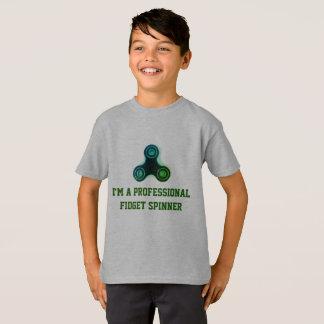 Camisetas engraçadas profissionais do girador da