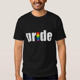 Camisetas escuras do orgulho gay (homens &