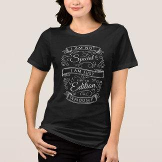 Camisetas femininas escritas à mão engraçadas da