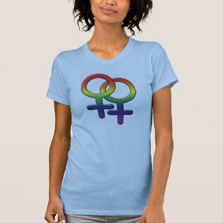 Camisetas gráficas alegres - Symbols_01 fêmea