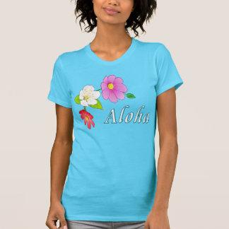 Camisetas havaianas para mulheres