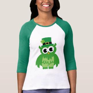 Camisetas irlandesas dos desenhos animados da