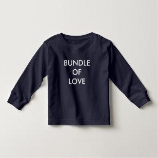 Camisetas longas da criança dos t-shirt da luva da