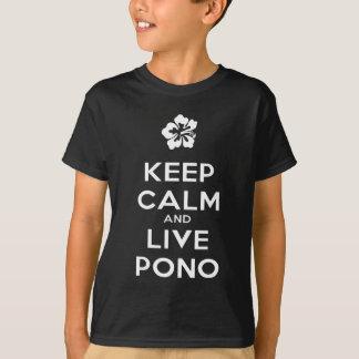 Camisetas Manter-Calmo-E-Vivas-Pono