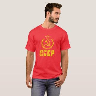 Camisetas masculinas amarelas comunistas da