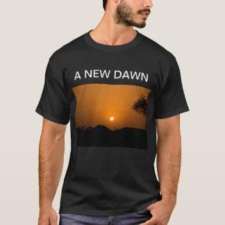 Camisetas novas do alvorecer