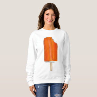 Camisola alaranjada do Popsicle de Creamsicle do Moletom