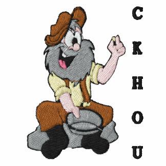 Camisola bordada Rockhound muito engraçada Moleton Com Capuz