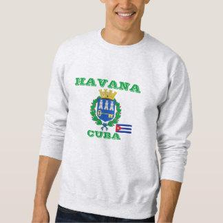 Camisola da crista de Cuba Havan Moleton