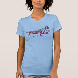 Camisola de alças azul da boneca de Java Jane com Tshirt