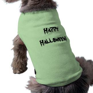 Camisola de alças com nervuras do cachorrinho roupas para pets