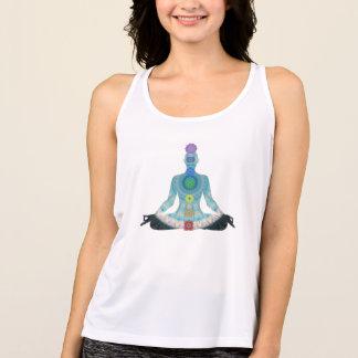 Camisola de alças da ioga da meditação de Chakra Regata
