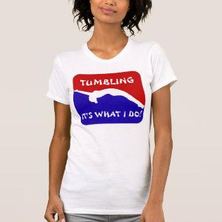 Camisola de alças de caída do Gymnast Camiseta