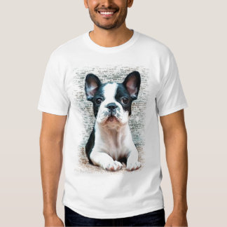 Camisola de alças do buldogue francês t-shirt