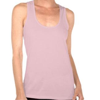 Camisola de alças: Uma simples, frase bonita Camisetas