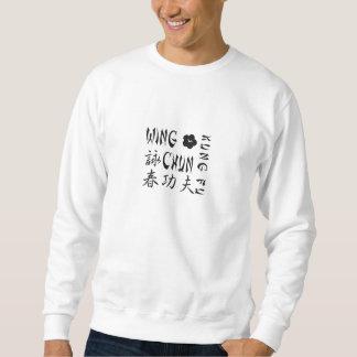 Camisola de Chun Kung Fu da asa - BT Moleton
