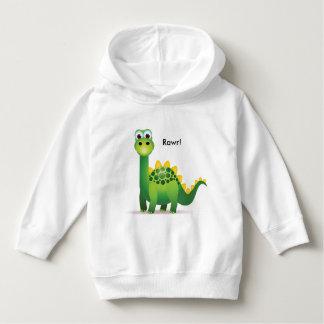 Camisola de Dino dos miúdos hoody Moletom