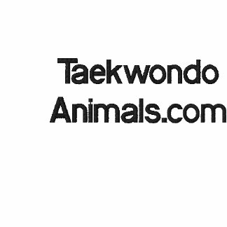 Camisola de Taekwondo Moletom Com Capuz