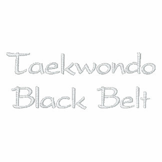 Camisola de Taekwondo Jaqueta Bordada