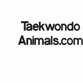Camisola de Taekwondo Moletom Com Capuz Pulôver Bordado