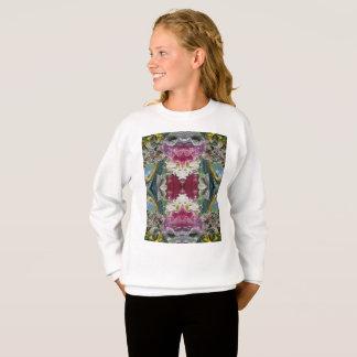 Camisola do Hanes ComfortBlend® das meninas Agasalho