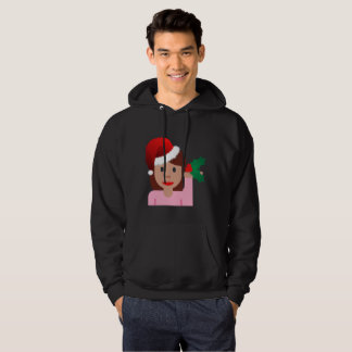 camisola do hoodie dos homens do emoji da menina moletom