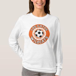 Camisola do logotipo da chama do futebol de LGHS Camiseta