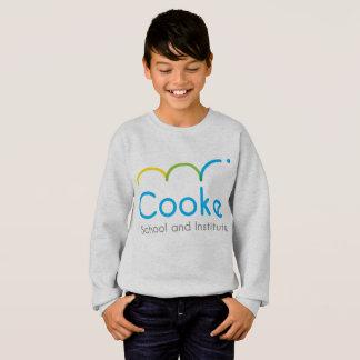 Camisola do pulôver de Cooke dos MIÚDOS, cinza