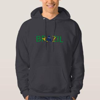 Camisola do sinal de Brasil Moletom