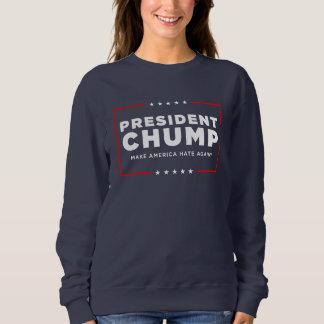 "Camisola do trunfo do protesto: ""Presidente Chump Moletom"