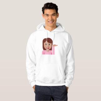 camisola encapuçado do hoodie dos homens do emoji moletom